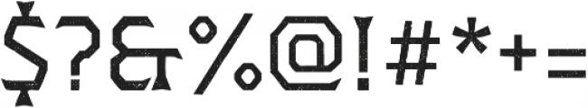 Dever Wedge Halftone Regular otf (400) Font OTHER CHARS