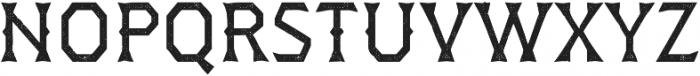 Dever Wedge Halftone Regular otf (400) Font UPPERCASE