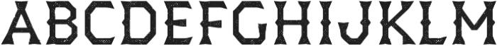 Dever Wedge Halftone Regular otf (400) Font LOWERCASE