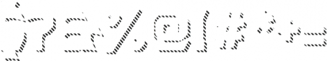 Dever Wedge Line Medium otf (500) Font OTHER CHARS