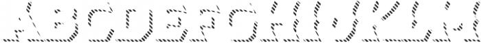 Dever Wedge Line Medium otf (500) Font LOWERCASE