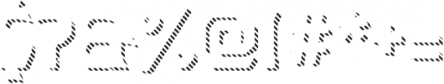 Dever Wedge Line Regular otf (400) Font OTHER CHARS