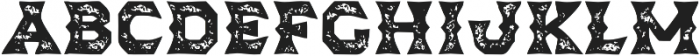 Dever Wedge Print Bold otf (700) Font LOWERCASE