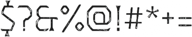 Dever Wedge Print Light otf (300) Font OTHER CHARS