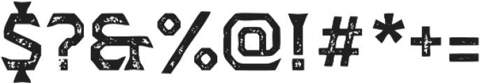 Dever Wedge Print Medium otf (500) Font OTHER CHARS