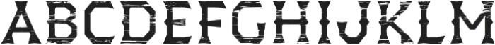 Dever Wedge Wood Regular otf (400) Font LOWERCASE