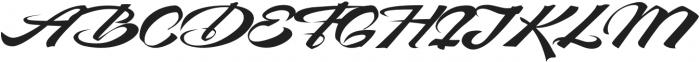 Devil East otf (400) Font UPPERCASE