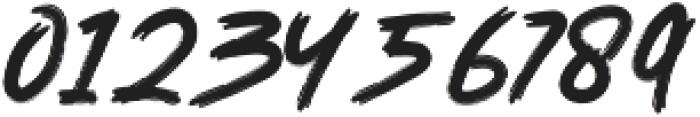 Devilish Style One otf (400) Font OTHER CHARS