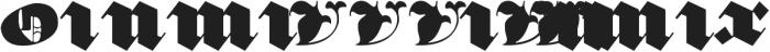 Devil's Advocate Regular otf (400) Font OTHER CHARS
