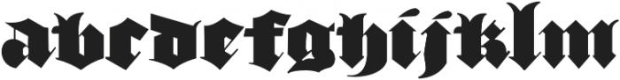 Devil's Advocate Regular otf (400) Font LOWERCASE