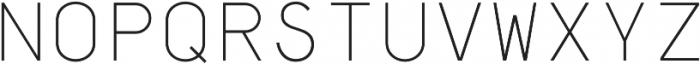 Dexford Text otf (300) Font UPPERCASE