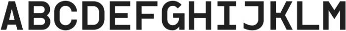 Dexford Text otf (600) Font UPPERCASE
