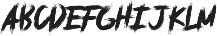 deadpack ttf (400) Font UPPERCASE