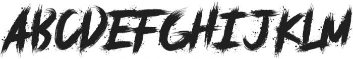 deadpack ttf (400) Font LOWERCASE
