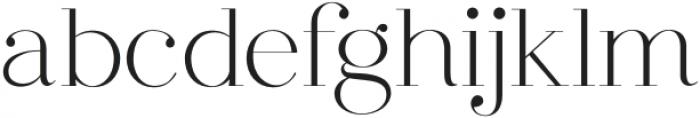 dear ivy, Regular otf (400) Font LOWERCASE