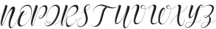 delaney Regular otf (400) Font UPPERCASE