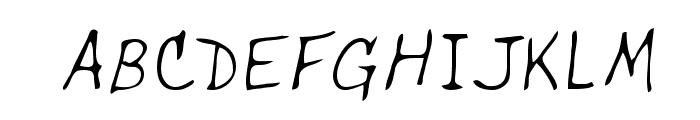 Dells Regular Font UPPERCASE
