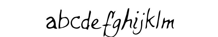 Dells Regular Font LOWERCASE