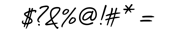 DesertDogHmk Font OTHER CHARS