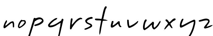 DesertDogHmk Font LOWERCASE