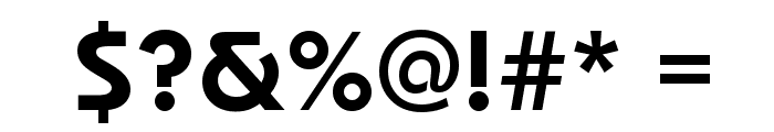 Dessau-DemiBold-Regular Font OTHER CHARS