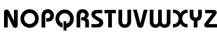 Dessau-DemiBold-Regular Font UPPERCASE