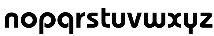 Dessau-DemiBold-Regular Font LOWERCASE
