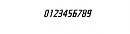 Decade Italic.otf Font OTHER CHARS