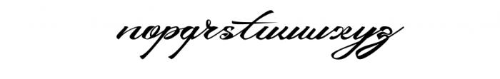 Devil East Font LOWERCASE