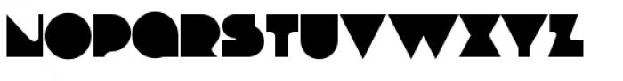 Debacle Bold Font LOWERCASE