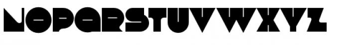 Debacle Medium Font UPPERCASE