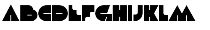 Debacle Regular Font UPPERCASE