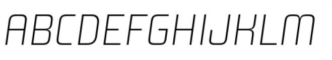 Design System A 100I Font UPPERCASE