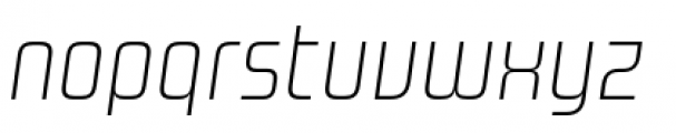 Design System A 100I Font LOWERCASE