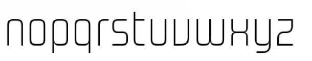 Design System A 100R Font LOWERCASE