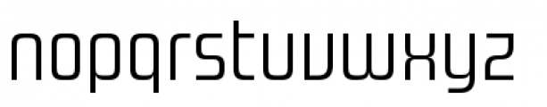 Design System A 300R Font LOWERCASE