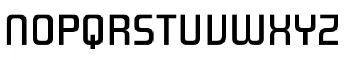Design System A 500R Font UPPERCASE