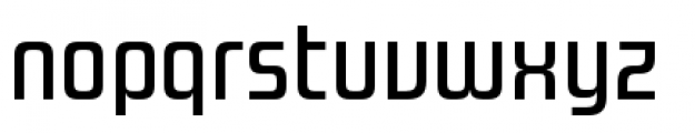 Design System A 500R Font LOWERCASE