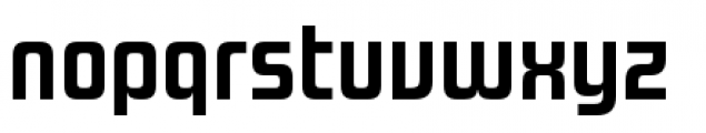 Design System A 700R Font LOWERCASE