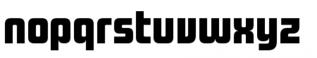 Design System A 900R Font LOWERCASE