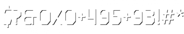 Dever Sans Accent Light Font OTHER CHARS