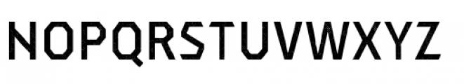 Dever Sans Halftone Medium Font UPPERCASE