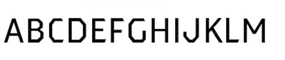 Dever Sans Halftone Regular Font LOWERCASE