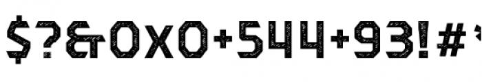Dever Sans Jean Bold Font OTHER CHARS