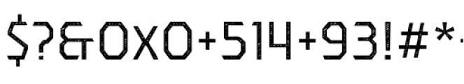 Dever Sans Jean Regular Font OTHER CHARS