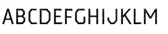 Dever Sans Jean Regular Font UPPERCASE