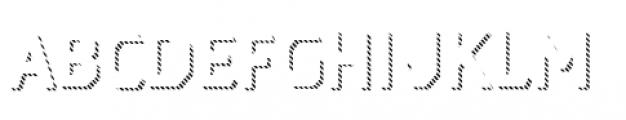 Dever Sans Line Medium Font UPPERCASE