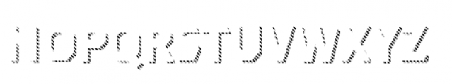 Dever Sans Line Medium Font LOWERCASE