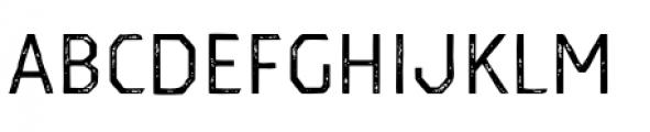 Dever Sans Print Regular Font UPPERCASE