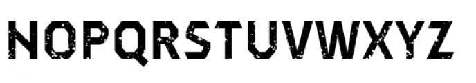 Dever Sans Rough Bold Font UPPERCASE